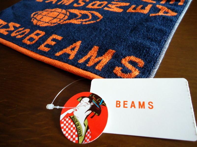 BEAMS ビームス今治タオル (2).JPG