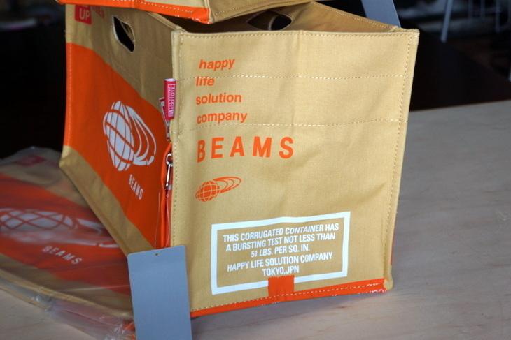 BEAMS(ビームス) ルートート カートンBAG002.JPG