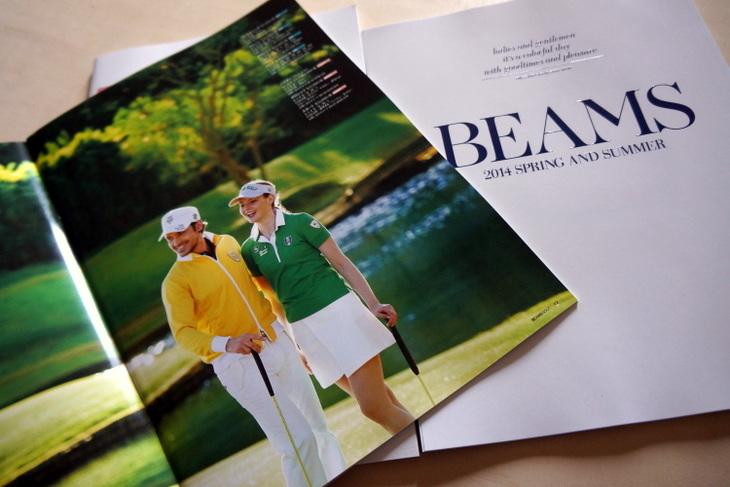 ビームスゴルフ2014年春夏シーズンカタログ003.JPG