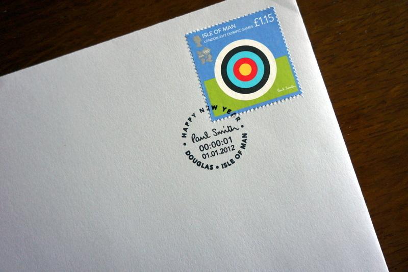 ポール・スミス ロンドンオリンピック記念切手 (2).JPG