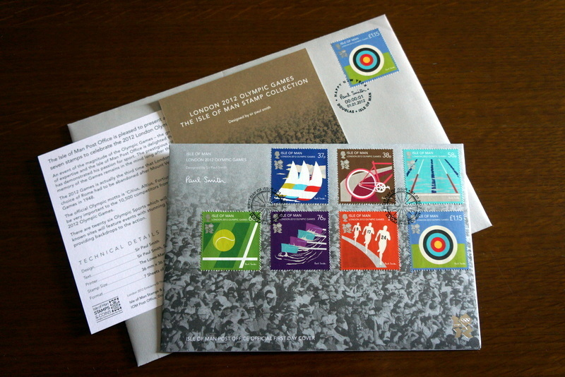 ポール・スミス ロンドンオリンピック記念切手 (3).JPG