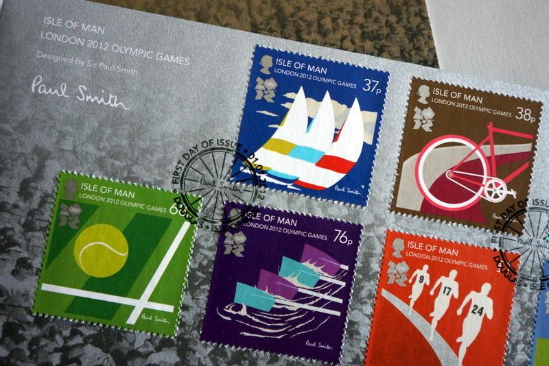 ポール・スミス ロンドンオリンピック記念切手 (5).JPG