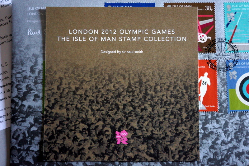 ポール・スミス ロンドンオリンピック記念切手 (6).JPG