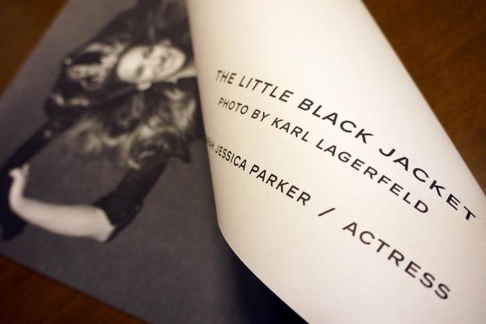 リトルブラックジャケット写真展 非売品ポスター サラ・ジェシカ・パーカー002.JPG