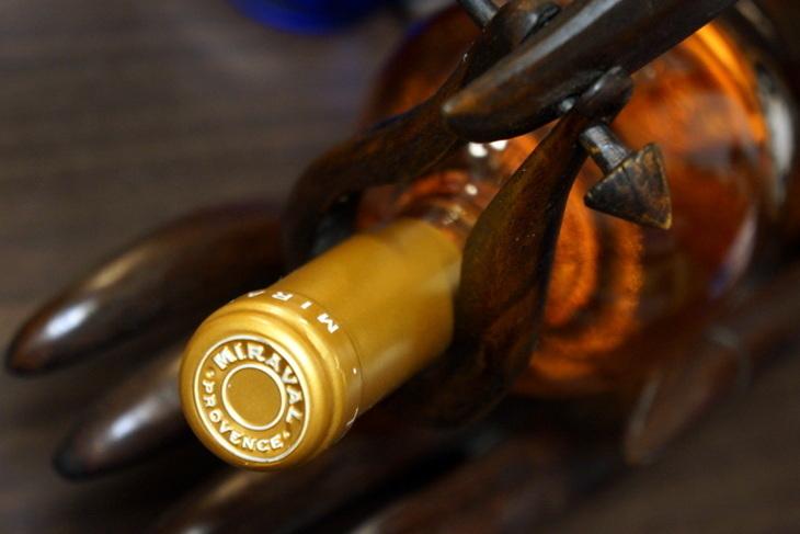 ワイン ミラヴァル・ロゼ 2013004.JPG