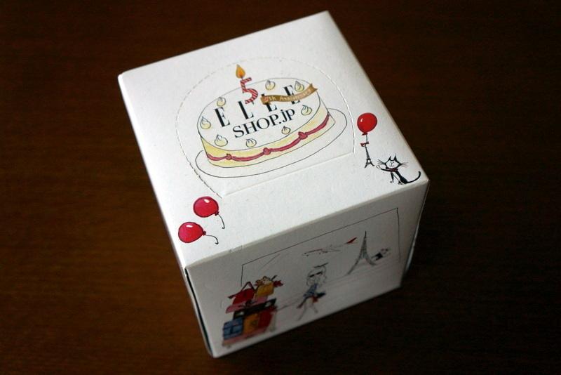 ELLE SHOP エルショップ限定ティッシュボックス (1).JPG