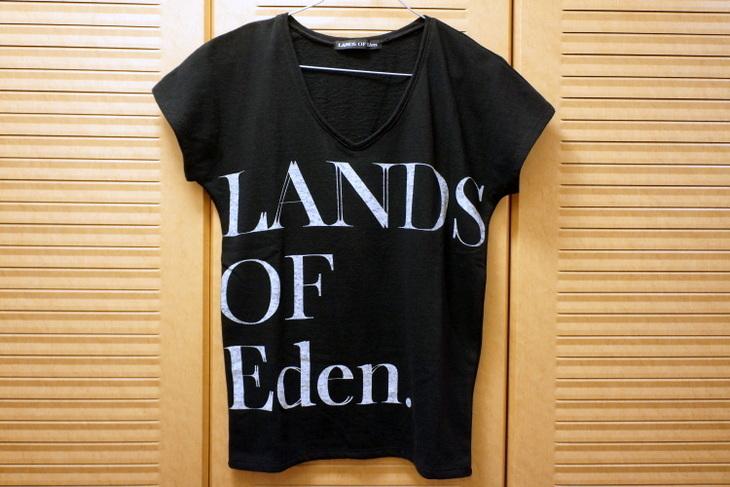 LANDS OF Eden.ランズオブエデン非売品Tシャツ001.JPG