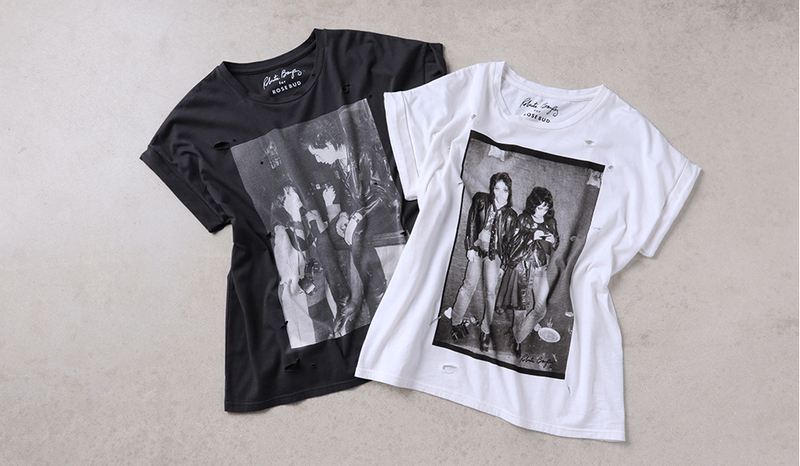 ROSEBUD(ローズバット)× 写真家ロベルタ・ベイリー プリントTシャツ.jpg