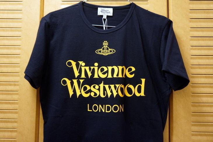 Vivienne Westwoodヴィヴィアン・ウエストウッドロゴTシャツ001.JPG