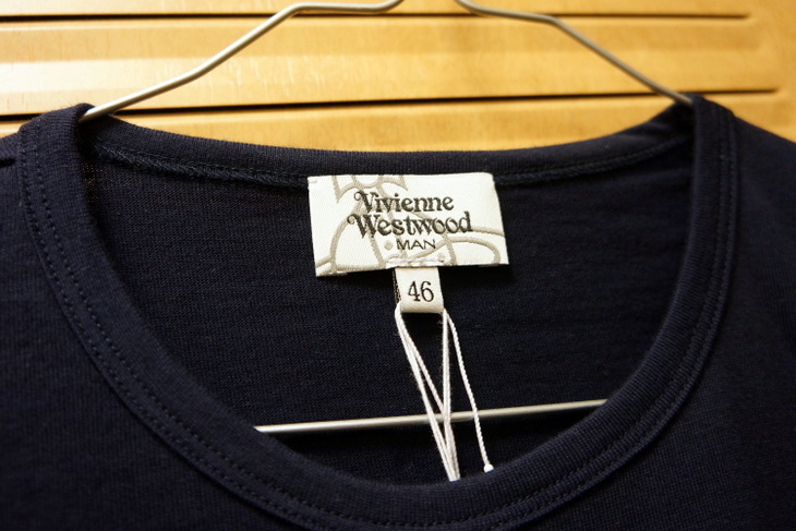 Vivienne Westwoodヴィヴィアン・ウエストウッドロゴTシャツ002.JPG