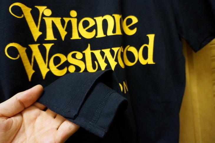 Vivienne Westwoodヴィヴィアン・ウエストウッドロゴTシャツ003.JPG
