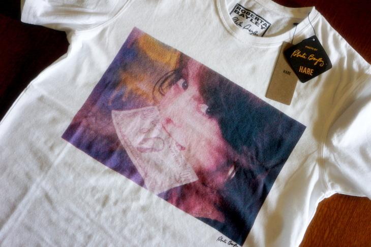 HARE(ハレ)Roberta Bayley(ロベルタ・ベイリー)コラボ・プリントTシャツ001