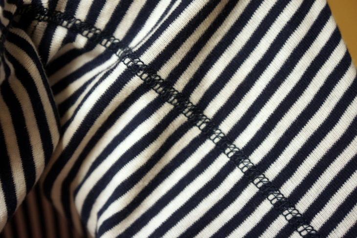 SHIPS(シップス)別注HEALTHKNIT(ヘルスニット)ボーダーTシャツ シップスジェットブルー003