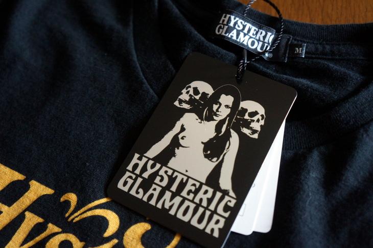 HYSTERIC GLAMOUR(ヒステリックグラマー)Tシャツ アコースティック002