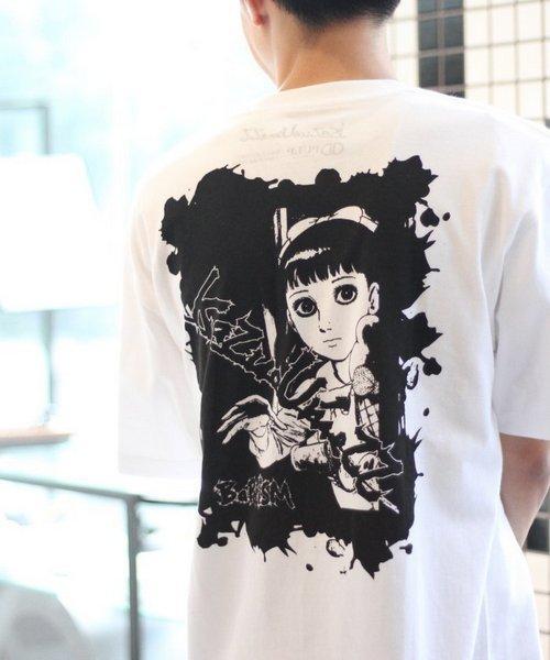 エディフィスパルプ× 楳図かずおTシャツ-001.jpg
