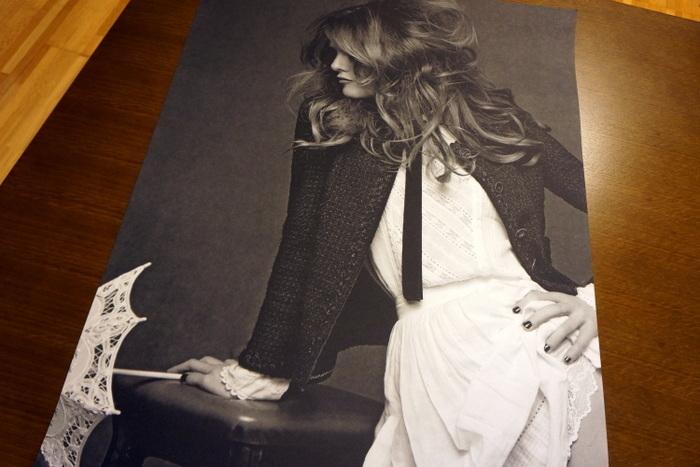 リトルブラックジャケット写真展(THE LITTLE BLACK JACKET)非売品ポスター ヴァネッサ・パラディ001.jpg