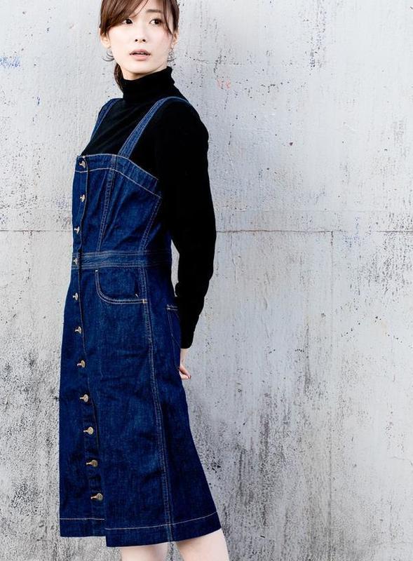リーバイスデニム ボタンワンピースドレス.jpg