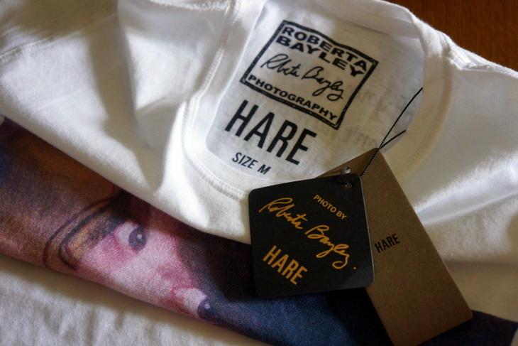 HARE(ハレ)Roberta Bayley(ロベルタ・ベイリー)コラボ・プリントTシャツ002